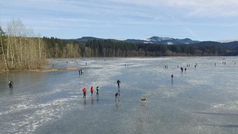 Frozen Lake Padden